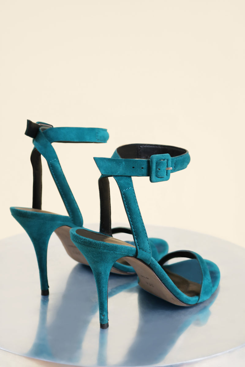 Alexander Wang Suede Ankle Wrap Sandal