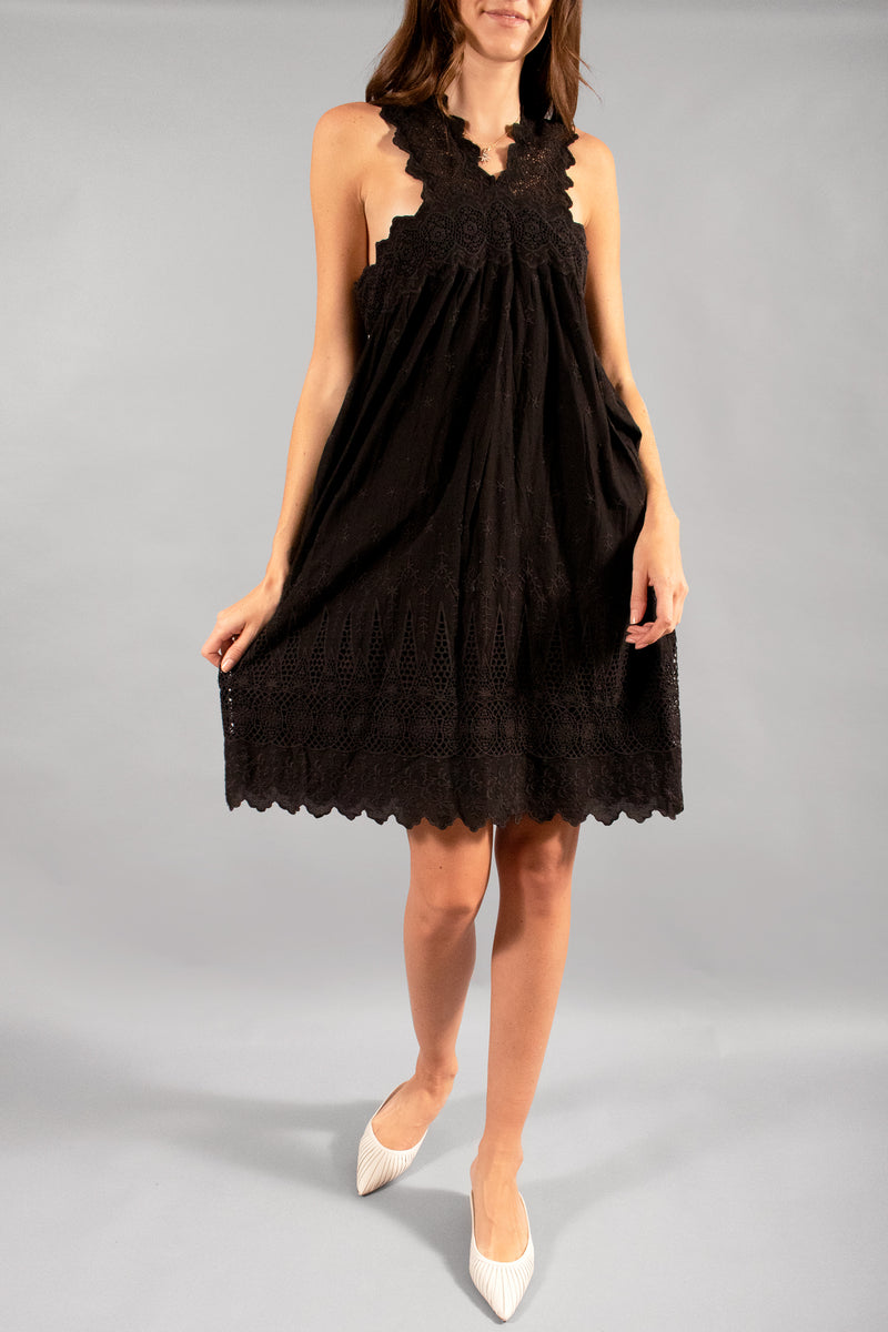 Ulla Johnson Embroidered Cotton Dress