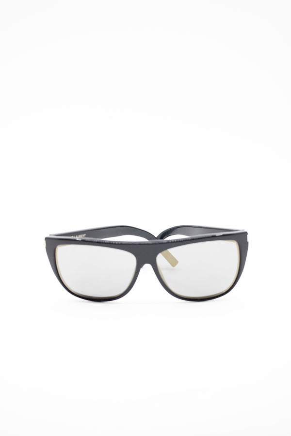 Saint Laurent Flat Top Acetate Sunglasses (est. retail $395)