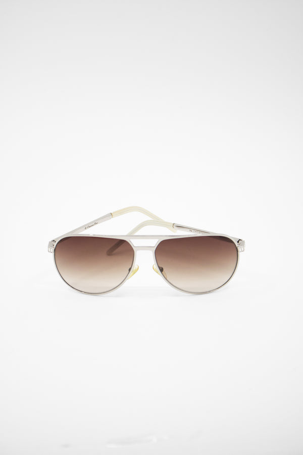 Christian Dior Gradient Aviator Sunglasses