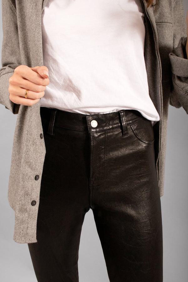 J Brand Zip Leather Pants (Est. Retail $1,047)