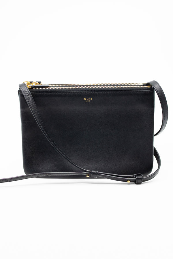 Celine 'Trio' Leather Bag (Est. retail $1,250)