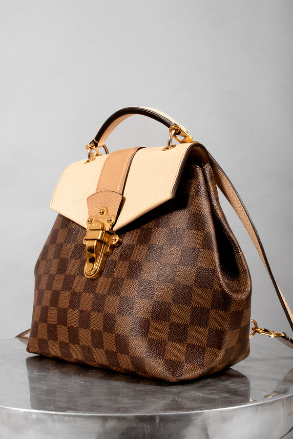 Louis Vuitton Damier Ebene Clapton Creme Backpack (Est. Retail $2,040)
