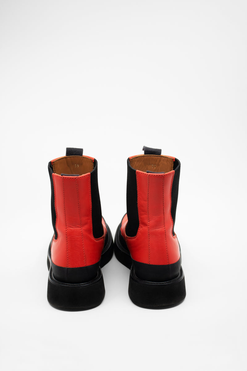 Celine 'Country' Leather Chelsea Boots