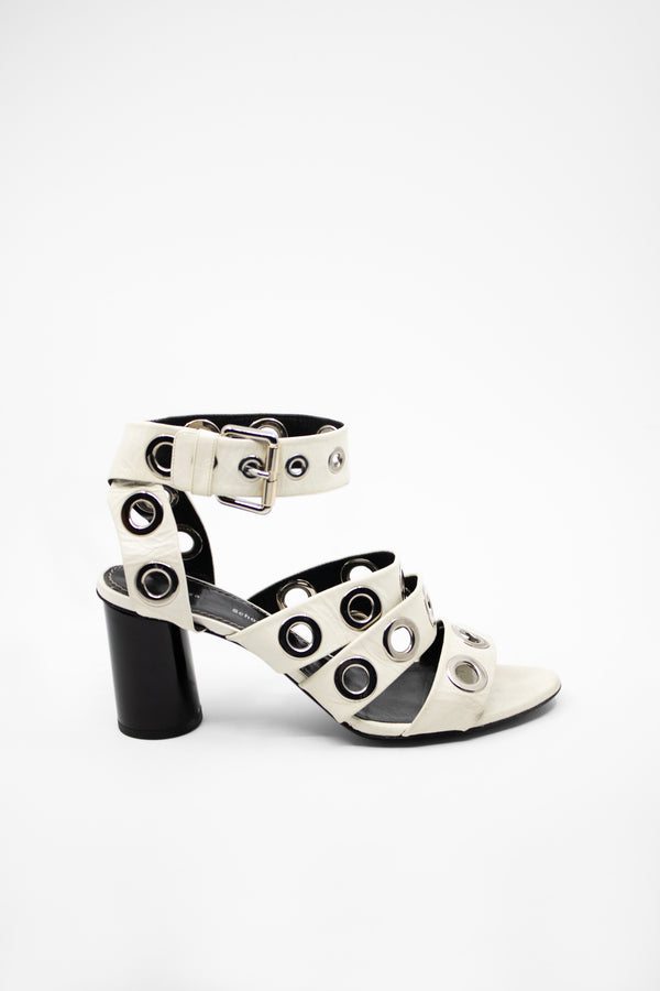 Proenza Schouler Leather Heeled Sandals