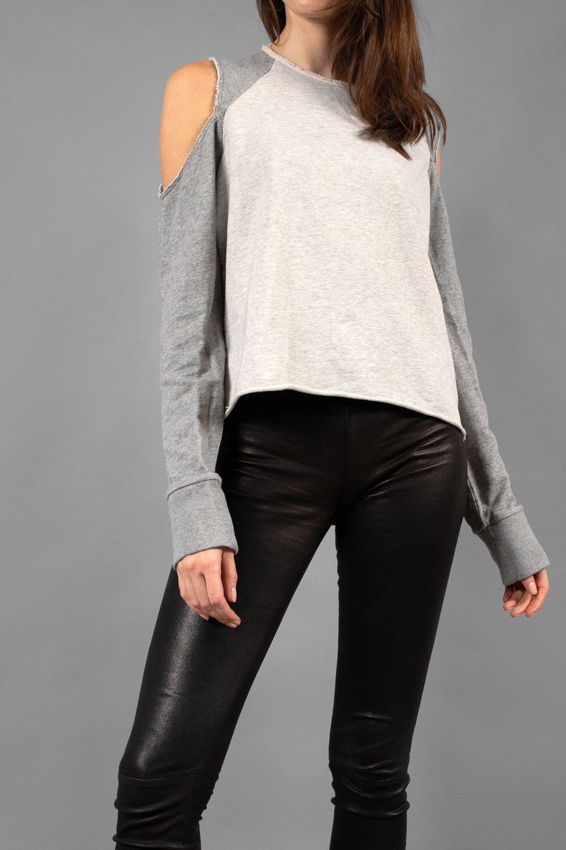 Rag & Bone Cold-Shoulder Sweatshirt