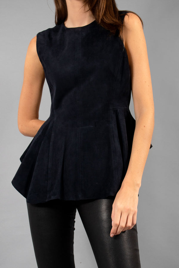 Theory Suede Top