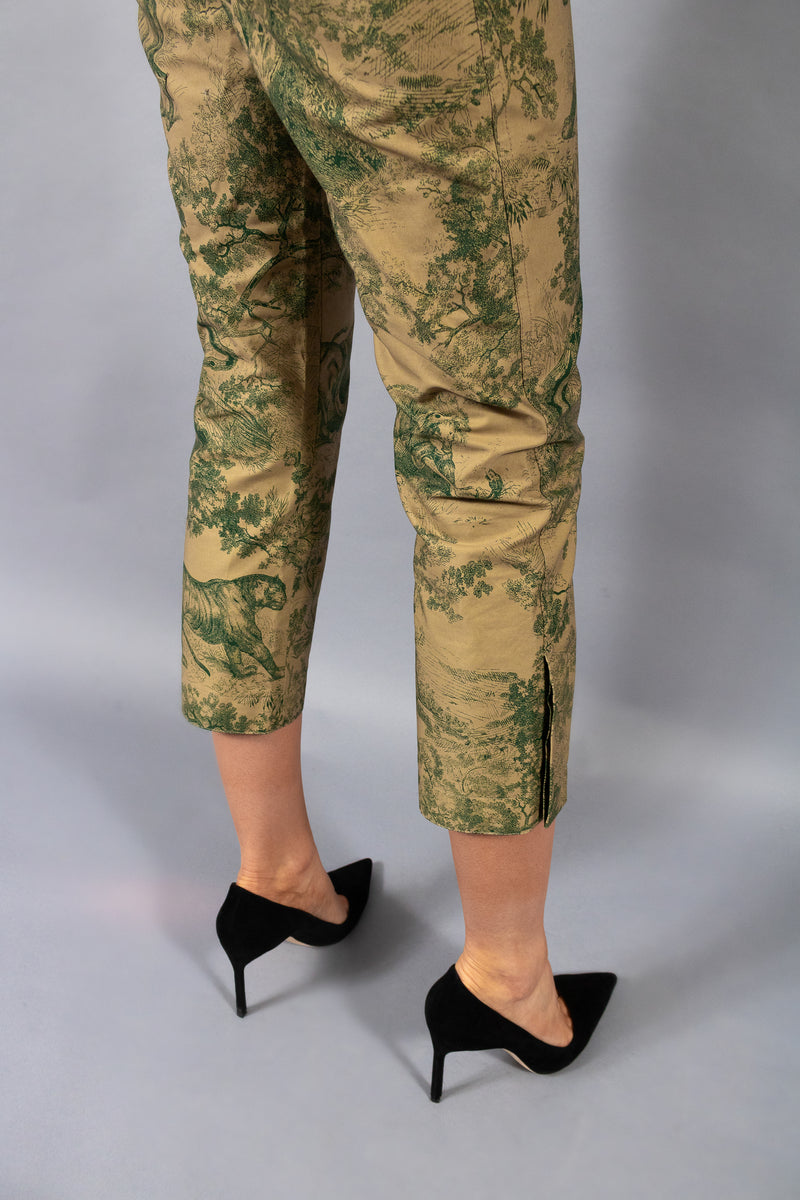 Christian Dior Cruise 2019 Toile du Jouy Pants