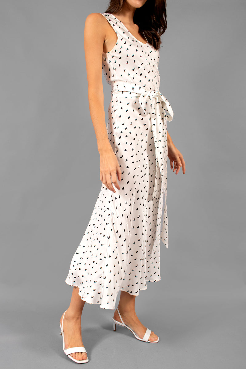 Maggie Marilyn Silk Printed Dress (Est. Retail $515)