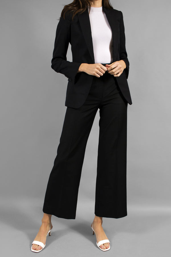 Stella McCartney Black Wool Trouser