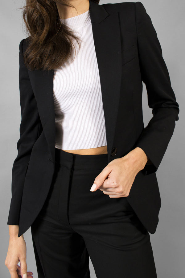 Stella McCartney Black Single-breasted Blazer