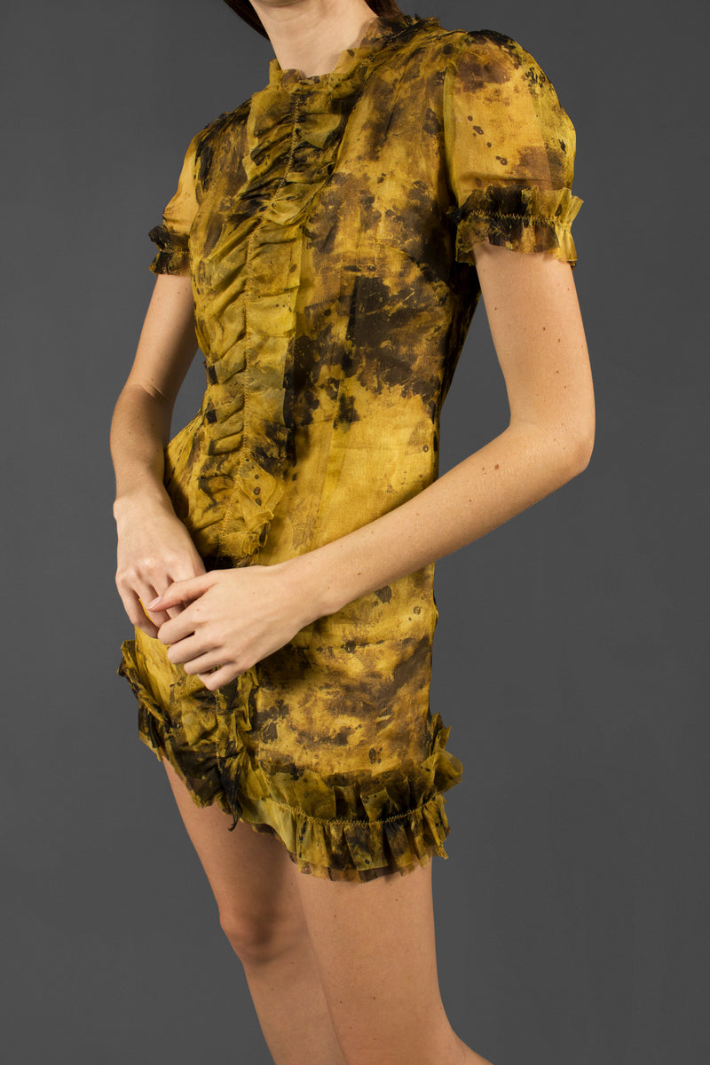 D&G Printed Silk Dress