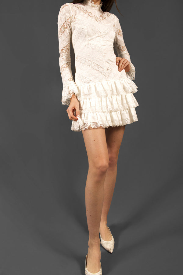 Zimmermann Lace Mini Dress (Est. retail $950)