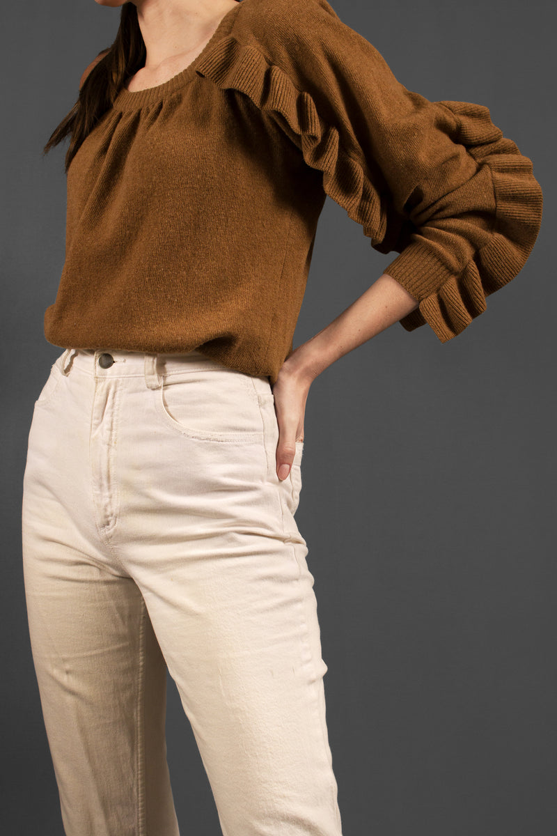 See by Chloé Ruffle Sleeve Sweater
