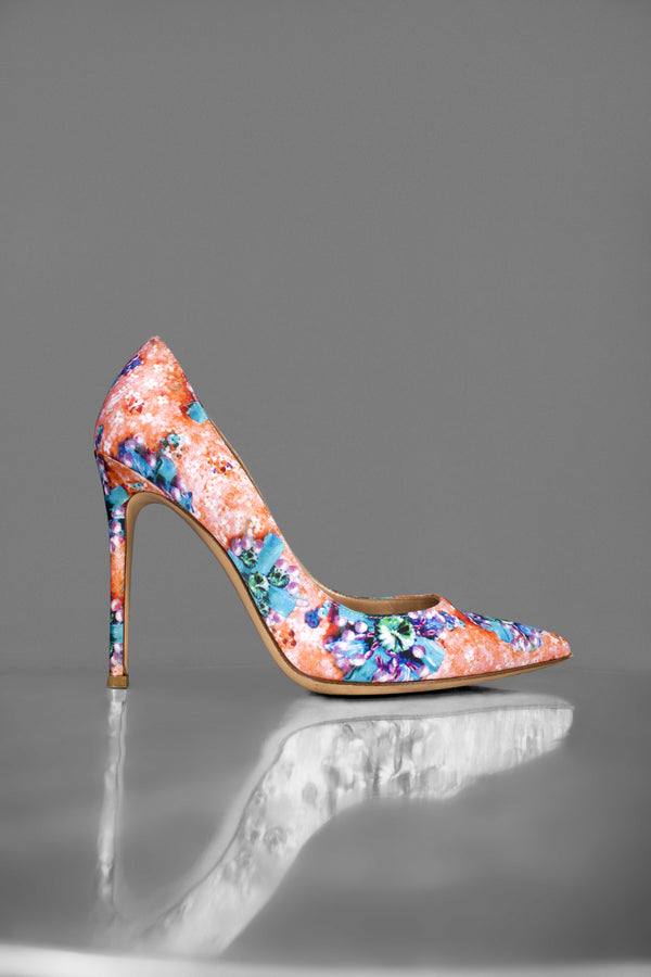 Gianvito Rossi Printed  Pump