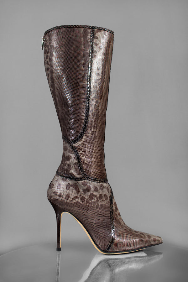 Jimmy Choo Karung Million Knee High Boots (Est. retail $1,550)