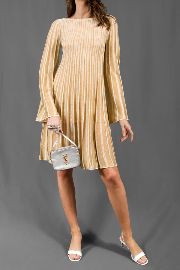 M Missoni Metallic Knit Dress