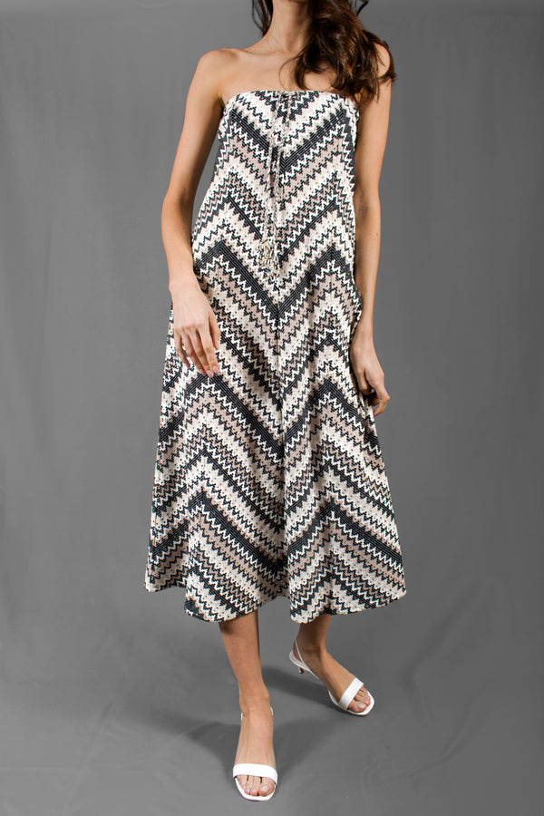 Calypso Chevron Knit Dress/ Skirt