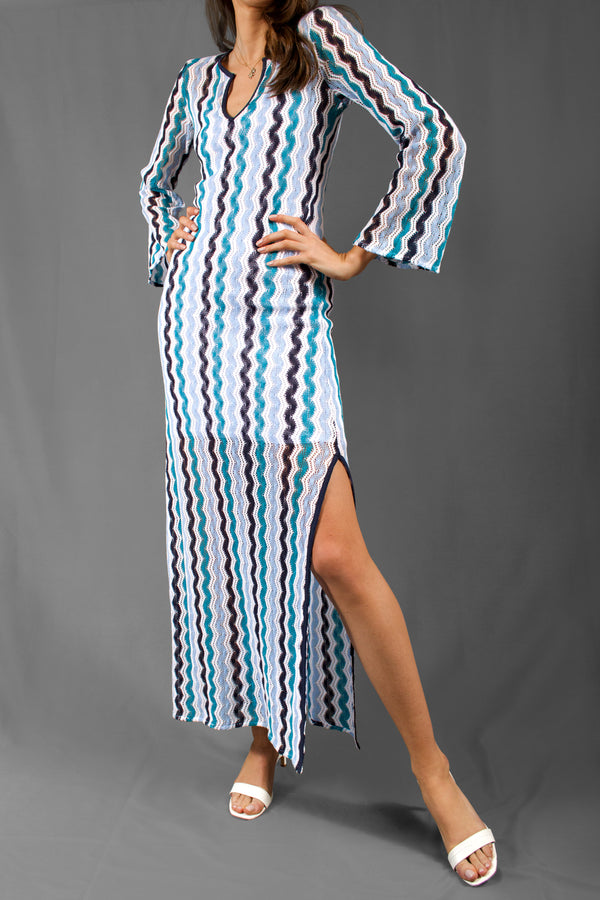 Calypso St. Barth Knit Maxi Dress