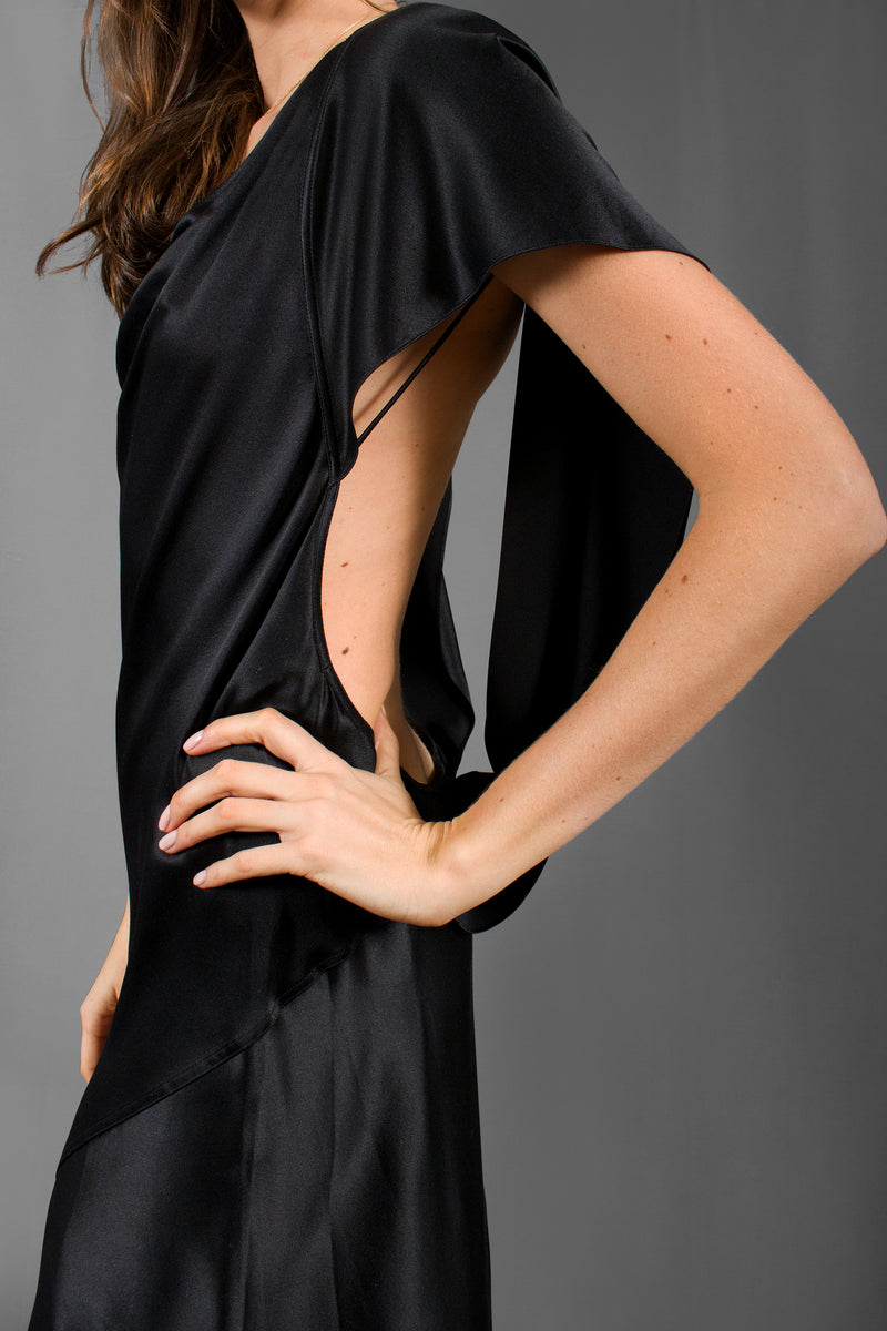 Alexander Wang Draped Open Back Dress