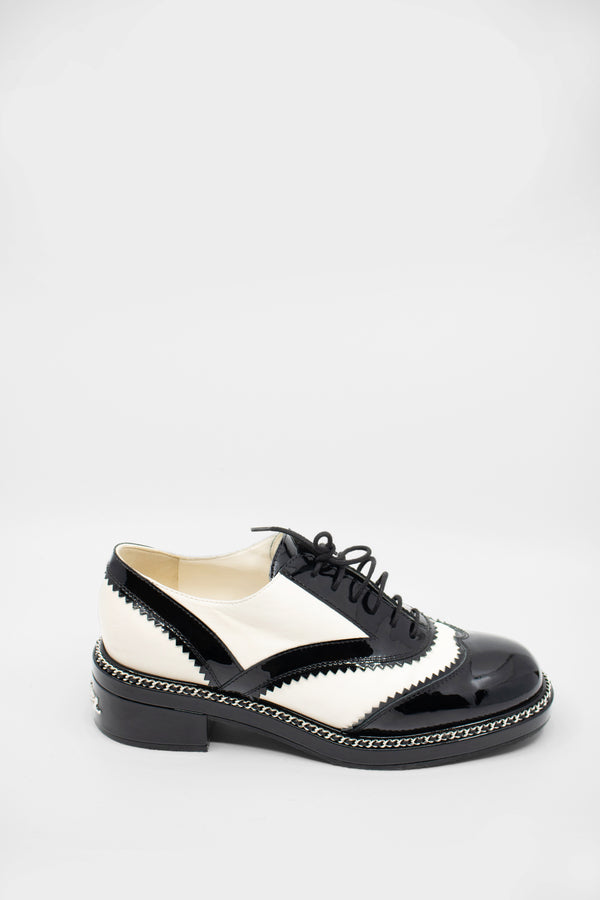 Chanel Patent Oxfords