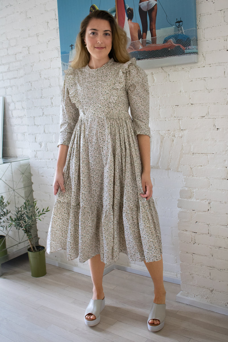 Doen Floral Cotton Dress