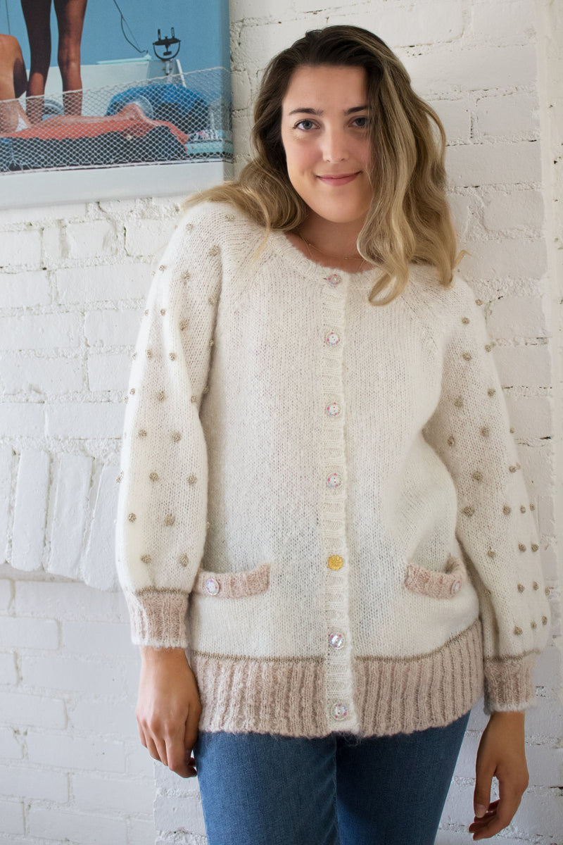 LoveShackFancy 'Nuri' Boyfriend Cardigan | New with tags (est. retail: $475)