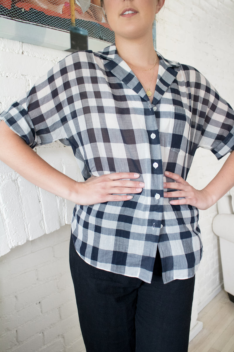 Theory Checked Button Down