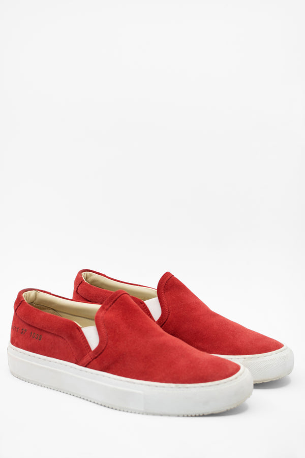 Common Projects Suede Slip-on