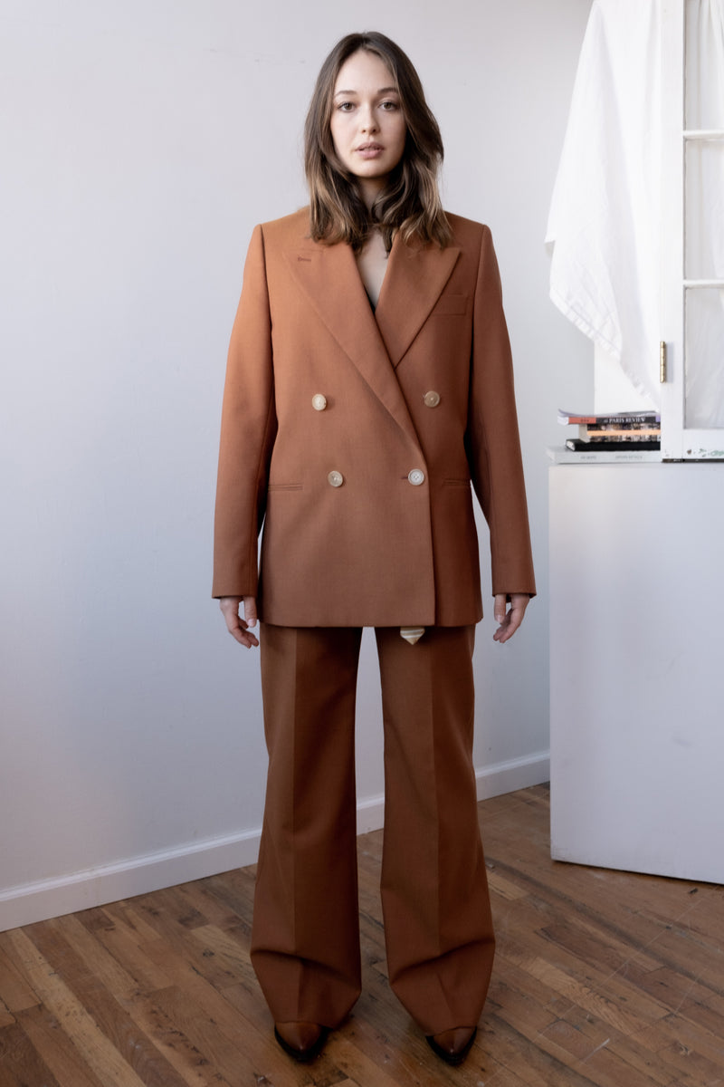 Acne Studios Double-Breasted Wool Blazer
