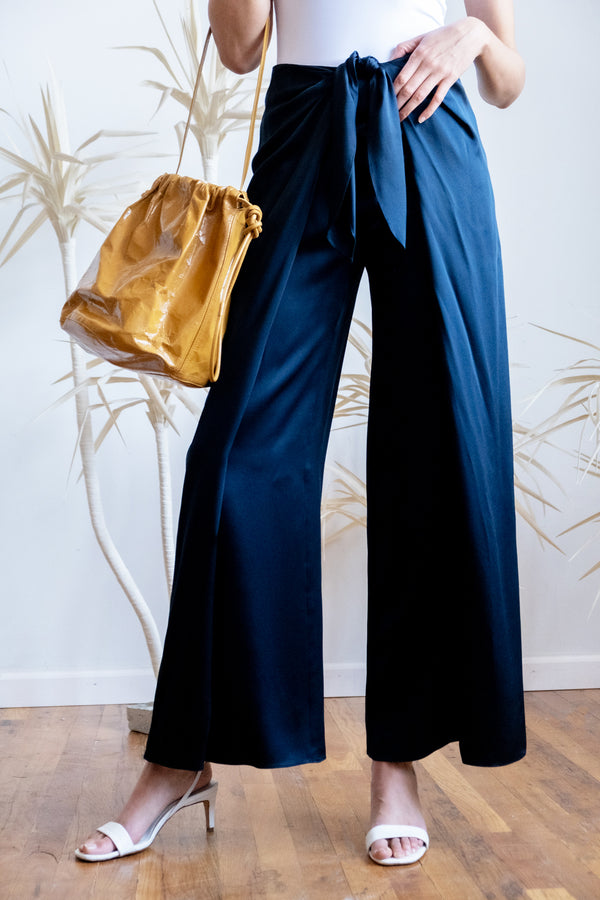 Zac Posen Silk Cropped Pants | New with tags (Est. retail $1,390)