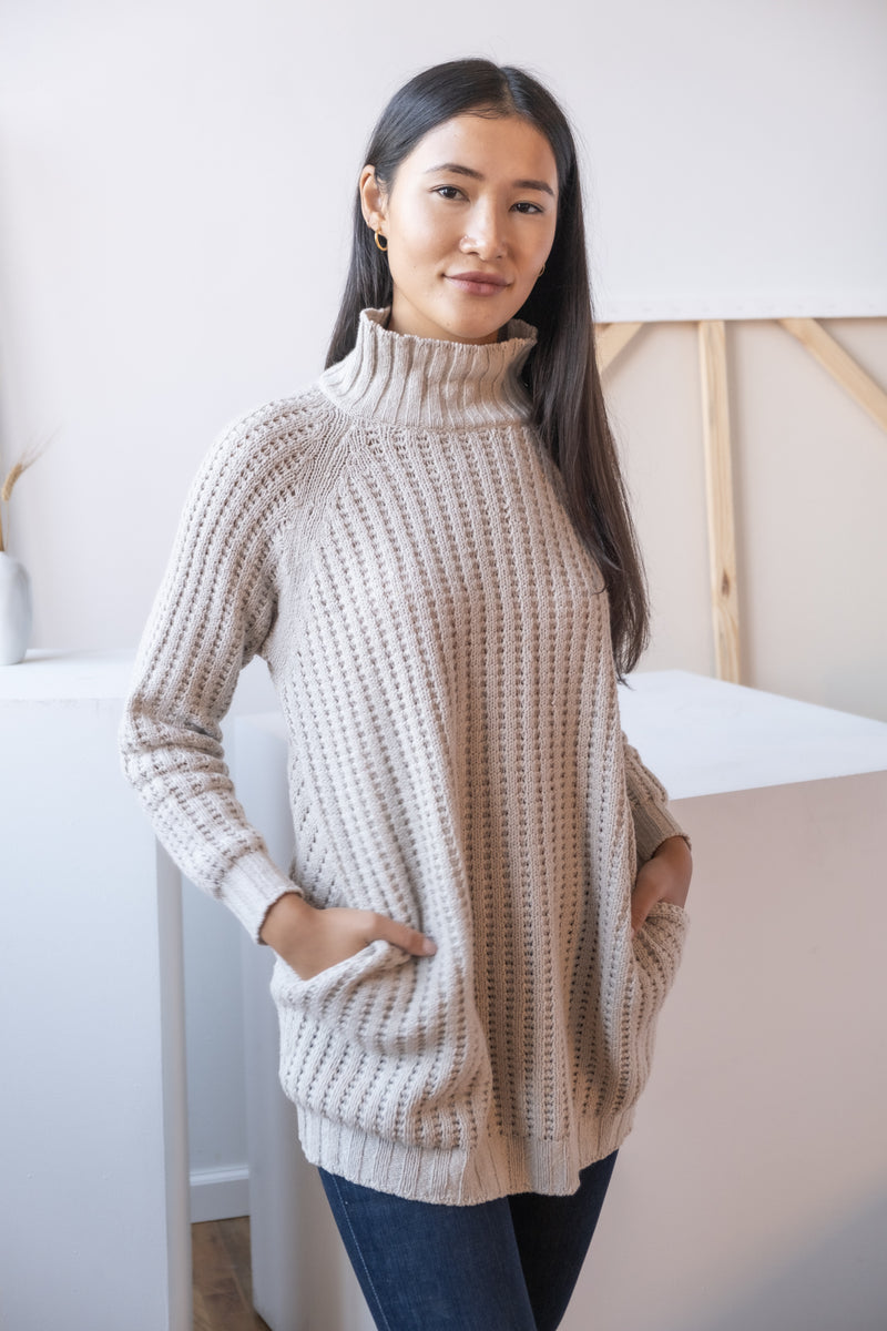 Stella McCartney Cashmere Mock Neck Sweater