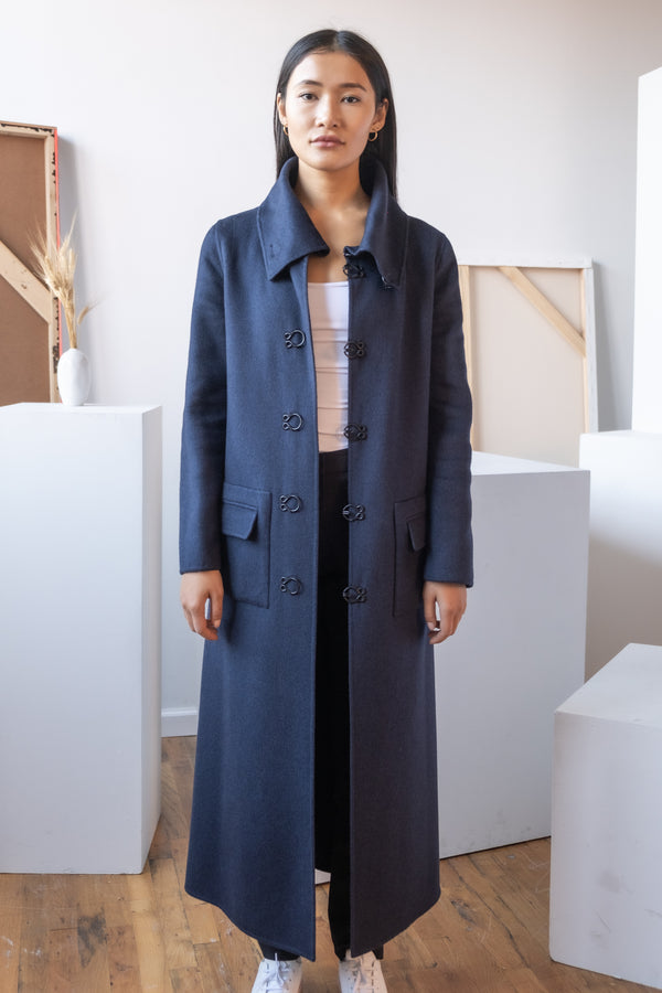Carolina Herrera Long Cashmere Coat