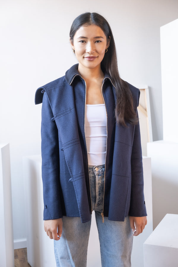 Carolina Herrera Wool Duffle Coat