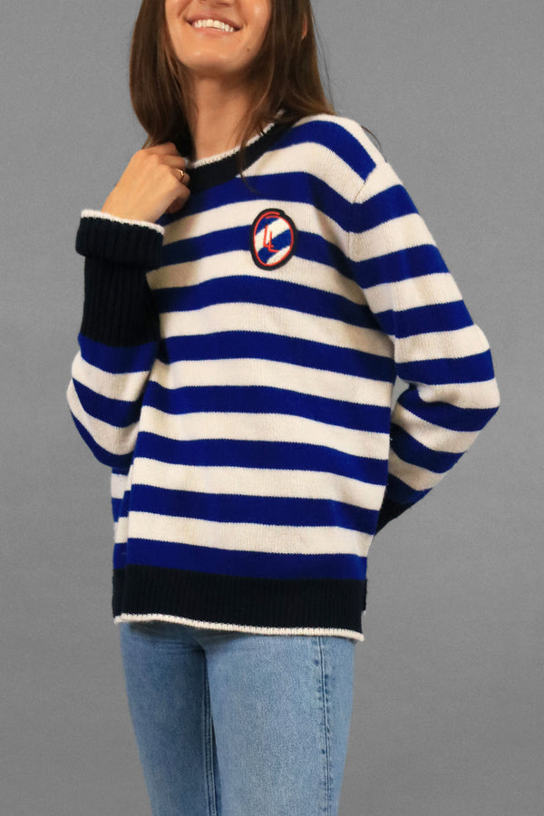 La Ligne Striped Cashmere Sweater