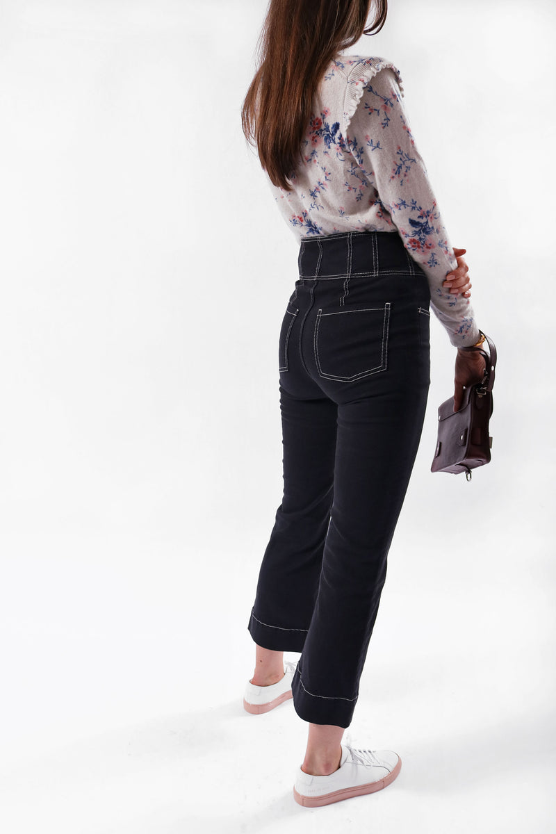 Ulla Johnson Cropped High Rise Jean | New with Tags (Est. Retail: $290)
