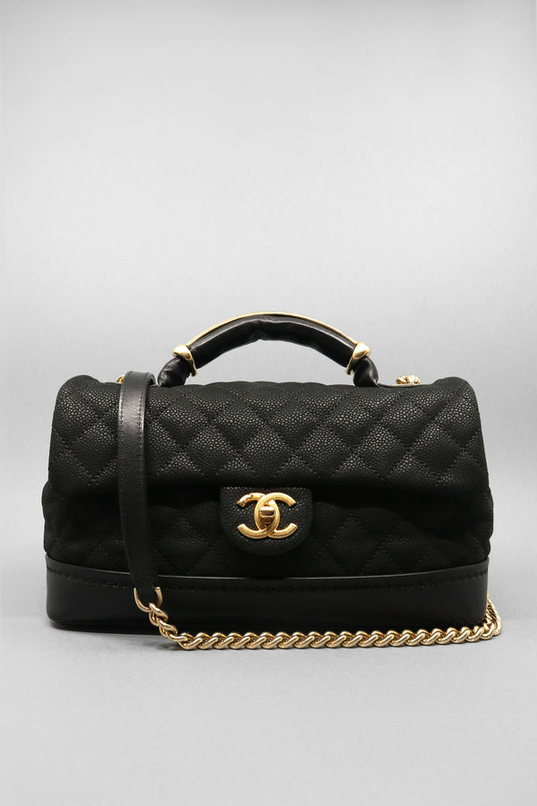Chanel Bag Caviar Leather Globetrotter Bag