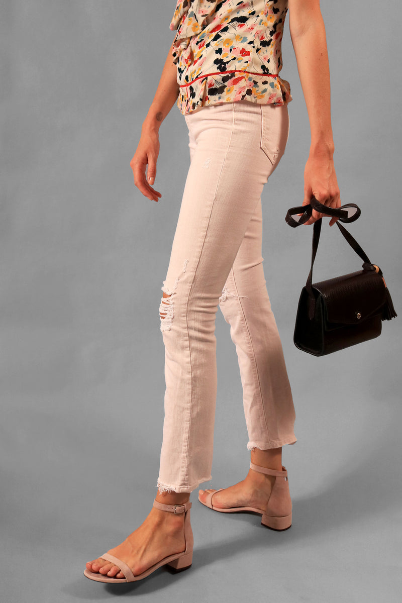 Mother Jeans Distressed Skinny Jean (Est. Retail: $258)