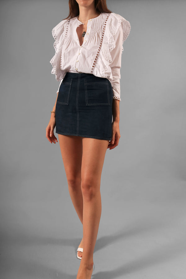 Staud Mini Skirt
