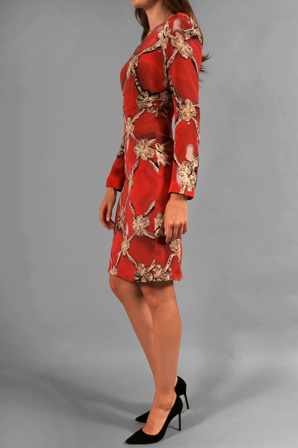 Mary Katrantzou Printed Shift Dress | New with Tags (Est. Retail $1,156)