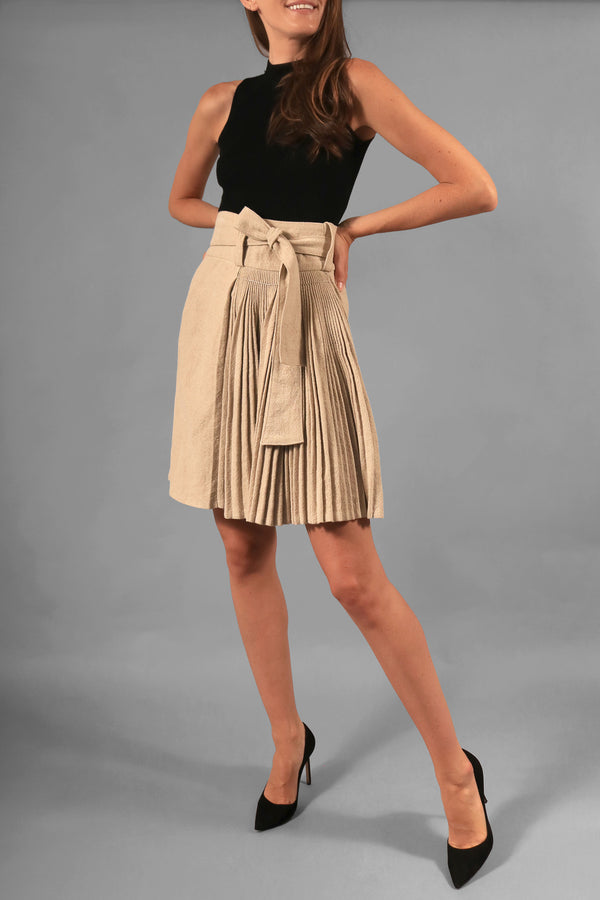 Balenciaga Pleated Skirt