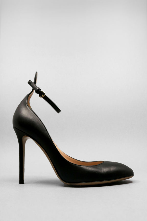 Valentino Leather Round Toe Pump