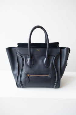 Celine Navy Luggage Tote  (est. retail $3,250)