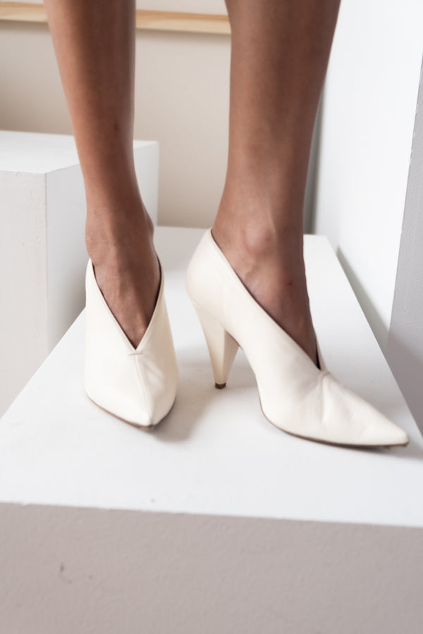 Celine Pointed Toe Pump