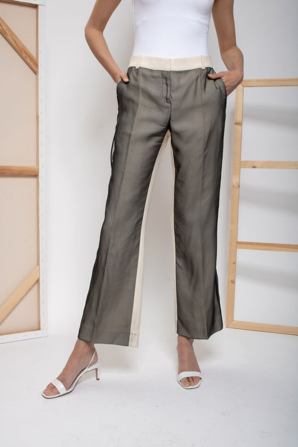 Celine Paneled Trousers