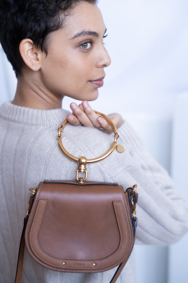 Chloé 'Small Nile' Leather Bracelet Bag