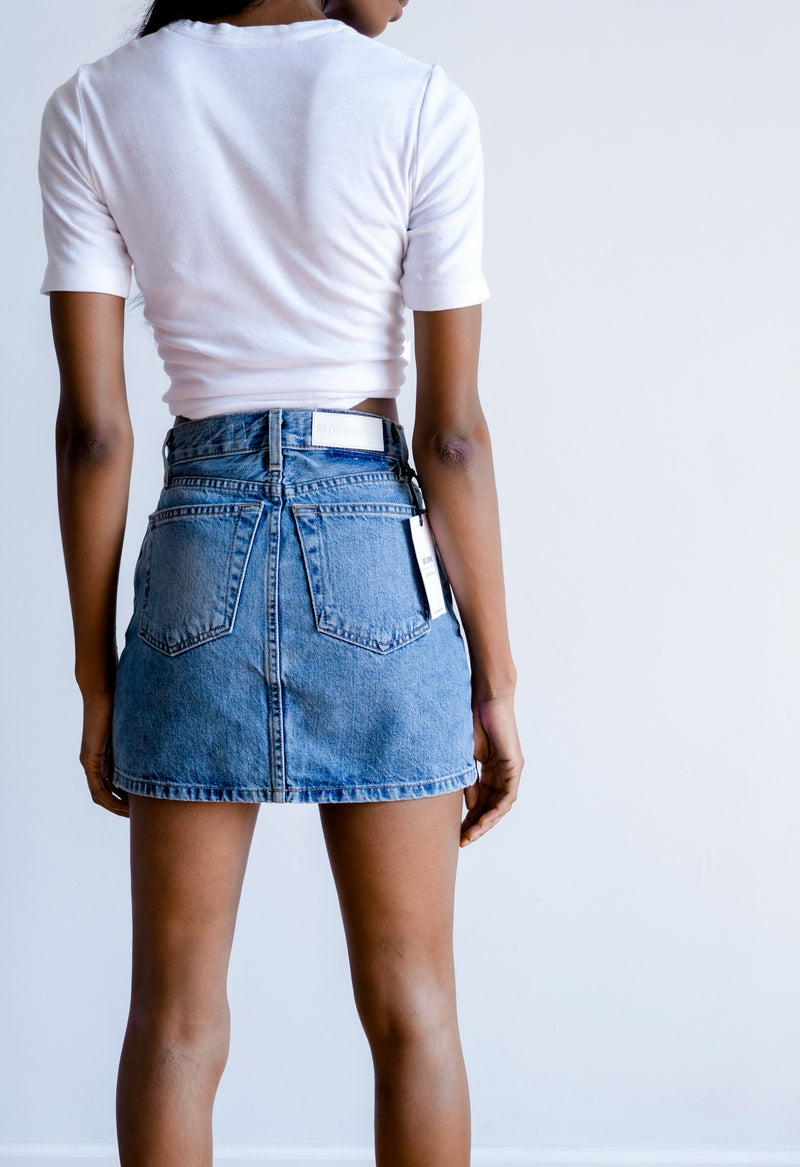 RE/Done Denim Skirt | new with tags