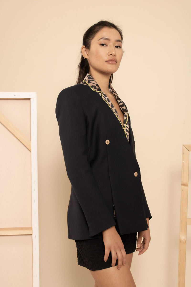 Dion Lee Collarless Blazer