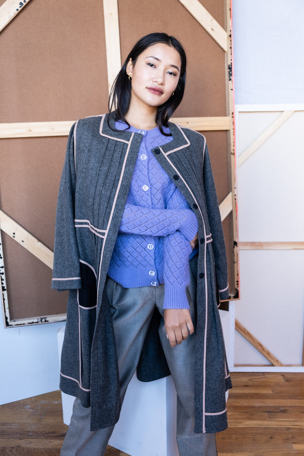 Marni Grey Wool Coat
