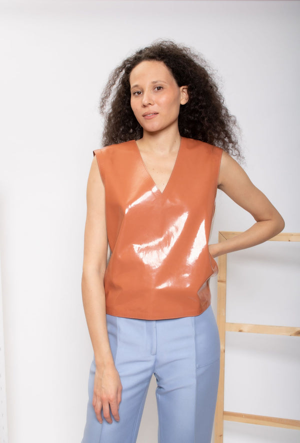 Marni Shiny Knit Shell Top